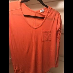 Small, coral Spendid T-shirt